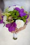 Plan rapproché de bouquet de mariage Photographie stock