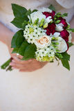 Plan rapproché de bouquet de mariage Image stock