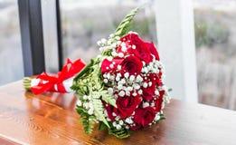 Plan rapproché de bouquet de mariage photos stock