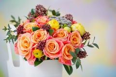 Plan rapproché de bouquet sensible de fleur Photographie stock libre de droits