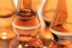 Plan rapproché de bouteille de médecine Photos stock