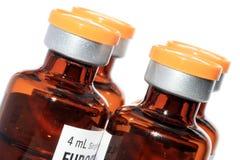 Plan rapproché de bouteille de médecine Image libre de droits
