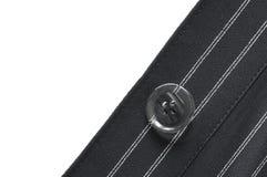 Plan rapproché de bouton de costume Photographie stock
