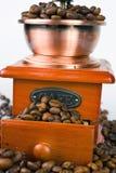 Plan rapproché de broyeur de café Photos libres de droits