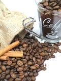 Plan rapproché de café Image libre de droits