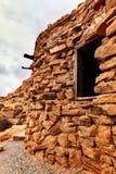 Plan rapproché de carlingue de roche, Nevada du sud, Etats-Unis photo stock