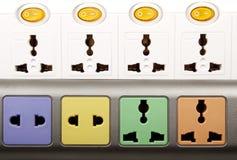 Plan rapproché de carte d'alimentation Photographie stock libre de droits