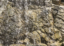 Plan rapproché de cascade Photo libre de droits