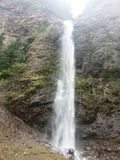 Plan rapproché de cascade Images stock