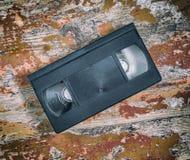 Plan rapproché de cassette vidéo Image stock