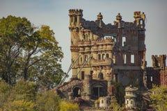 Plan rapproché de château dans les ruines image libre de droits