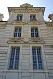 Plan rapproché de château de Cheverny Photographie stock