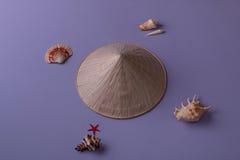 Plan rapproché de chapeau conique Photo stock