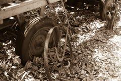 Plan rapproché de chariot de vintage Image libre de droits