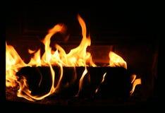 Plan rapproché de cheminée photo stock