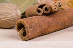 Plan rapproché de cinamon Photographie stock
