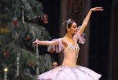 Plan rapproché de Clara - le casse-noix de ballet Image stock