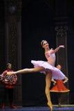 Plan rapproché de Clara - le casse-noix de ballet Images stock