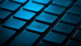 Plan rapproché de clavier avec l'espace de copie Image stock