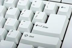 Plan rapproché de clavier d'ordinateur Photo stock