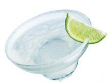 Plan rapproché de cocktail de margarita Images stock