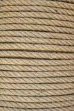 Plan rapproché de corde de Brown image libre de droits