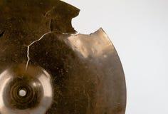 Plan rapproché de cymbales Images libres de droits