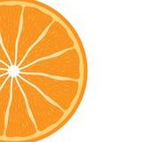 Plan rapproché de délicieux orange Photo stock
