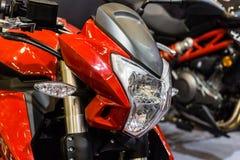 Plan rapproché de détail de moto photo libre de droits
