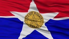 Plan rapproché de Dallas City Flag Image stock