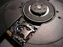 Plan rapproché de disque compact-ROM Photos stock