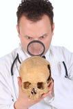 Plan rapproché de Doc. de CSI photographie stock libre de droits