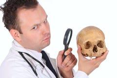 Plan rapproché de Doc. de CSI image libre de droits