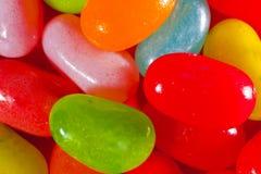 Plan rapproché de dragées à la gelée de sucre (multicolore) Images stock
