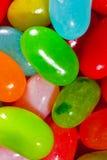 Plan rapproché de dragées à la gelée de sucre (multicolore) Photo stock