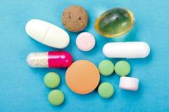 Plan rapproché de drogues Image libre de droits
