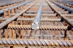 Plan rapproché de faisceau de fer Photo stock
