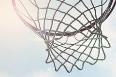Panneau arri re ext rieur de r seau de r seau de basket ball images libres de - Panneau de basket exterieur ...