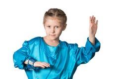 Plan rapproché de fille de danse Photos libres de droits