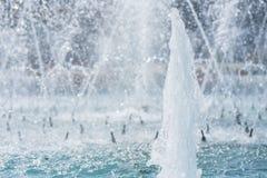 Plan rapproché de fontaine Photographie stock