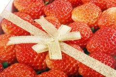 Plan rapproché de fraise Images libres de droits
