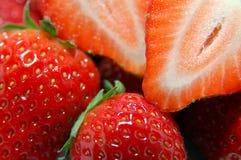 Plan rapproché de fraise Photo libre de droits
