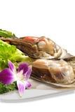 Plan rapproché de fruits de mer, Images stock