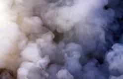 Plan rapproché de fumée Photos libres de droits