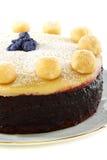 Plan rapproché de gâteau de Pâques de l'anglais. Photos libres de droits
