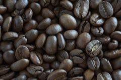 Plan rapproché de grains de café, fond abstrait images libres de droits