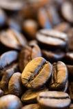 Plan rapproché de grains de café Image stock
