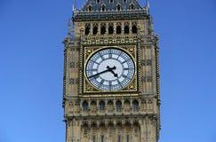 Plan rapproché de grand Ben - Londres, Englad image libre de droits