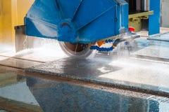 Plan rapproché de granit de coupe Photo libre de droits