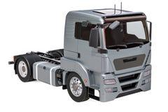 Plan rapproché de Gray Truck, rendu 3D illustration stock